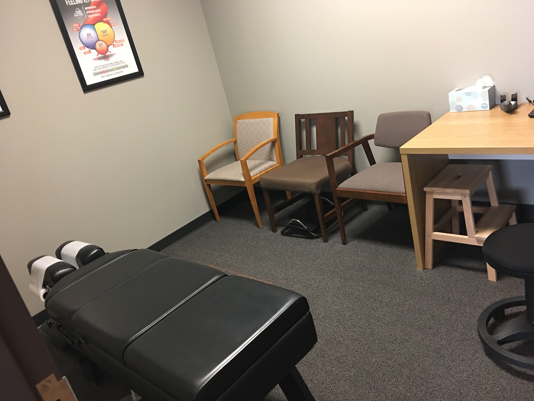 private room adjustment chiropractic shakopee