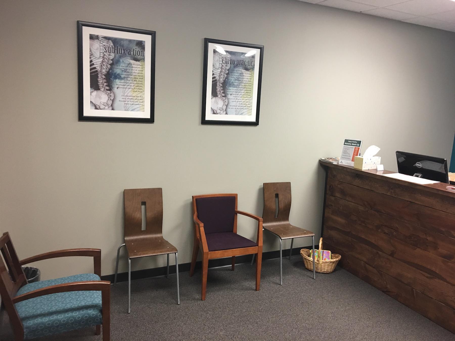 reception shakopee chiropractor